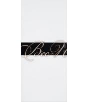 Черное стекло - Эмаль белая